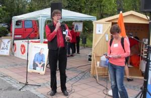 Torgdebatt om vården / foto Christer Johansson