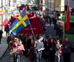 Förstamajtåg 2013 / foto Nils Granath