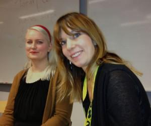 Torun Carrfors och Agnes Arpi