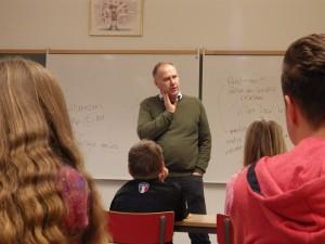 Jonas Sjöstedt i Alsike skola