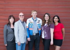 Maria, Christer, Tommy, Malin och Jaya