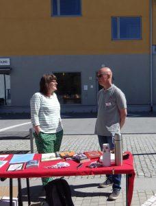 Agnes Jonsson och Christer Johansson