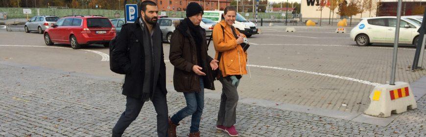 Ali, Fredrik och Tove