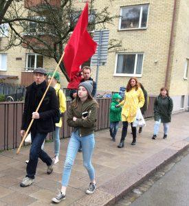 1 maj Knivsta i Uppsala
