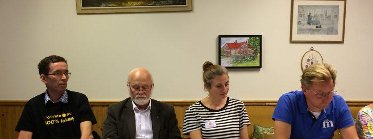 Fyra bostadsdebatörer