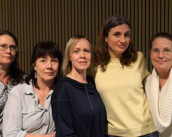 Malin, Maria, Anna, Elin och Nina